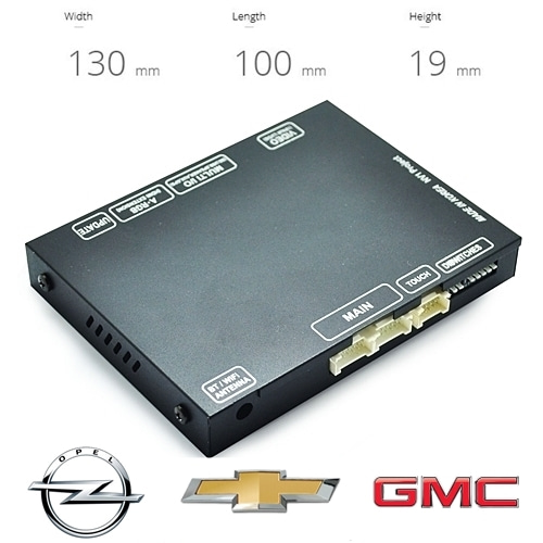 [GM IOB] Chevrolet, GMC, Opel IOB Radio AV Interface