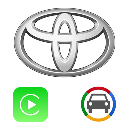 Toyota Touch N Go Apple CarPlay & Android Auto OEM Integration Kit