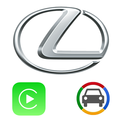 Lexus GVIF2012+ ES, NX, CT, IS, RX Apple CarPlay & Android Auto OEM Integration Kit
