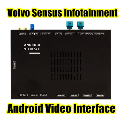 Volvo Sensus APLUS - Android Navigation Interface for Volvo Sensus Connect Infotainment System