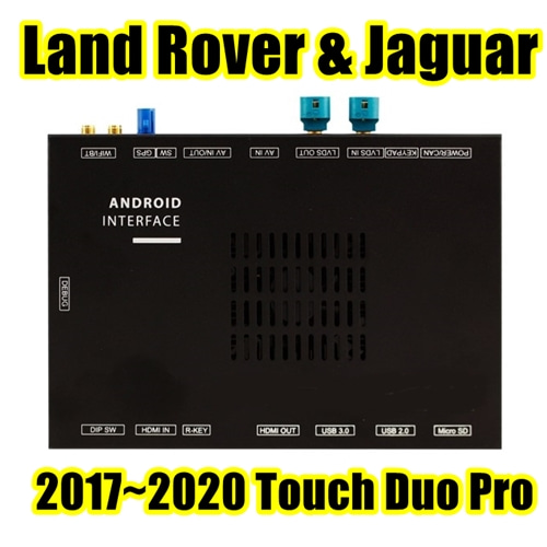 JLR16DM APLUS - Land Rover & Jaguar Touch Duo Pro Android Touch Navigation Interface