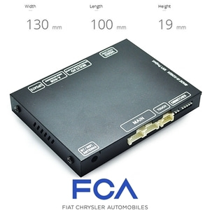 [FCA09 CAM] Chrysler, Maserati, Dodge Uconnect AV Interface
