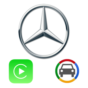 [MB45 CB] Mercedes Benz NTG4.5 Apple CarPlay & Android Auto OEM Integration Kit