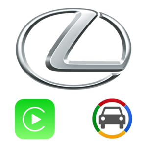 [LX12CB] Lexus 2012~2019 Apple CarPlay & Android Auto OEM Integration Kit