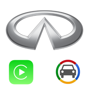 [Nissan Infiniti GVIF HD + NV17] M, FX, Pathfinder, Patrol Apple CarPlay & Android Auto OEM Integration Kit