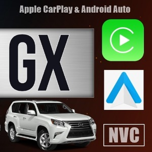 [Lexus GX CB] Lexus GX 2010~2020 Apple CarPlay & Android Auto OEM Integration Kit